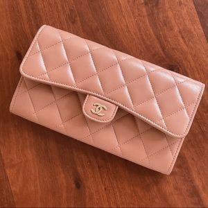 Chanel Classic Wallet Lambskin GWH BRAND NEW